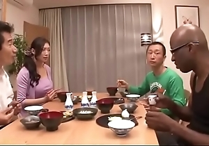 Japanese wife insusceptible to black-reiko