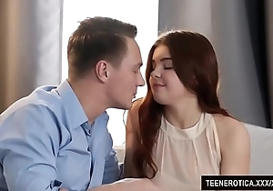Redheaded Xanthippe renata fox uses the brush pussy to please a tramp