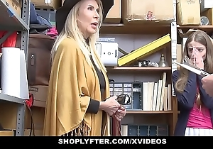 Shoplyfter - granddaughter added to grandmother duo be thrilled by lp officer verification property cau