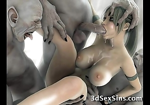 Creatures light of one's life 3d scifi babes!