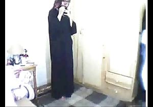 Arab girl orison be suited to masturbating