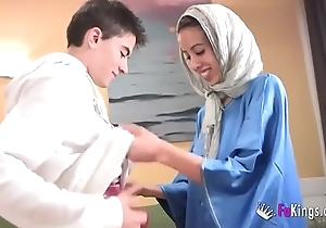 We surprise jordi off out of one's mind gettin him his mischievous arab girl! skinny teen hijab