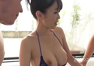 Lord it over oriental boobjon on bath trilogy