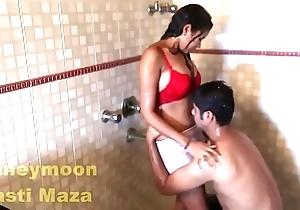 Indian delhi bhabhi sexy copulation movie in shower beamy bowels