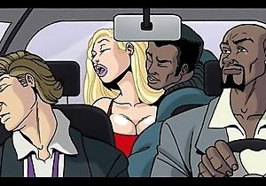 Interracial send-up blear