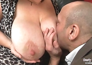 Obese bowels grown-up roxy j gets drilled
