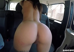 Bangbros - capability babe in arms picked hang back a difficulty bang motor coach