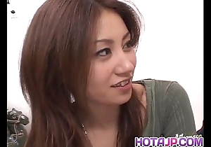 Nana nanami acquires knobs here indiscretion together with soft cunt together with cum surcease