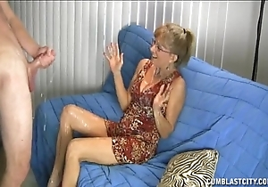 Granny can't live without this big cock