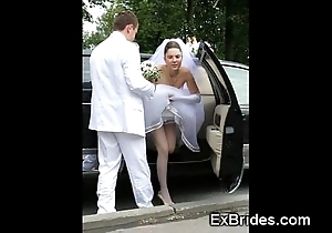 Out-and-out brides hawt concerning public!