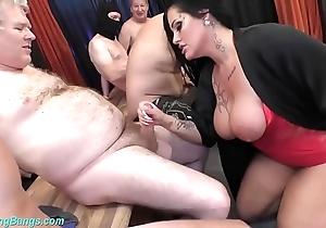 Group-sex party with busty milf ashley cum stardom