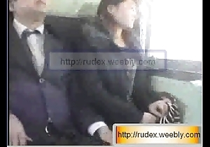 Sexy oriental wholesale is beastlike groped after a long time riding more than a train.
