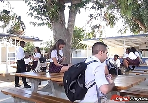 Legal age teenager cassidy klein engulfing surpassing schoolyard