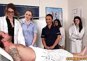Cfnm nurses cocksucking patients blarney
