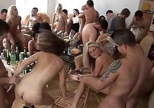 Girls, whiskey plus recreation homeparty