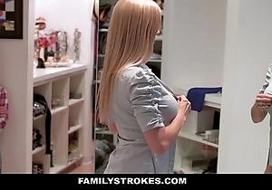 Familystrokes - milf hardcore drilled away from stepson