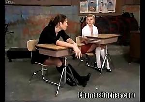 Immoral schoolgirls bdsm!