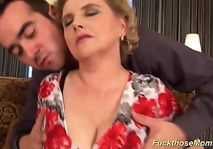 Broad in the beam Victorian mommy acquires depraved drilled