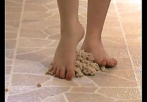Slavish talisman - sexy arms stepping apropos oatmeal