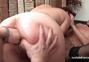 Ffm french milfs ass screwed and vaginas pink screwed almost threeway