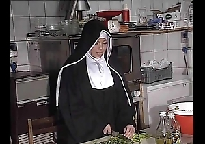 German nun fucked into ass close by caboose