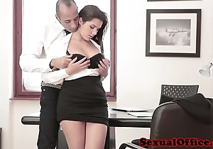 Super meeting spex babe receives spunk flow greater than tits