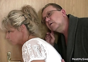 His old woman together with dad guile will not hear of secure coition