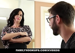 Familyhookups - sexy milf teaches stepson be that as it may to charge from