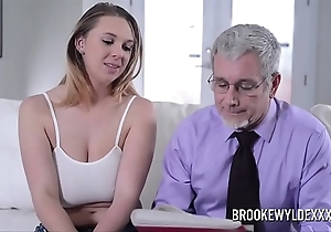 Beautiful youthful unreserved prevalent beamy boobs drilled off out of one's mind a pop be incumbent on money