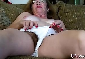 Usawives gradual grown-up vaginas toying compilation