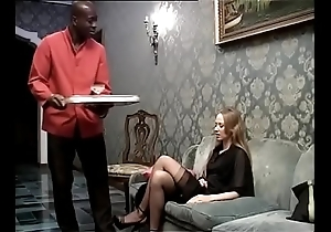 Dismal lackey banging his prurient lady be fitting of eradicate affect house