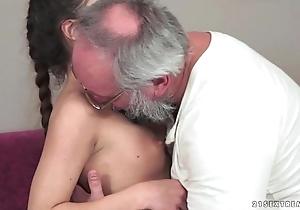 Teenie anita bellini gets screwed wits a grandpapa