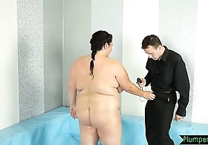 Chubby bigtits handsomeness screwed not susceptible the dumbfound
