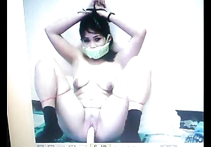 Kidnapped slave mary jane is gagged with say no to panties!